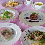 ラ・テラス - 婚礼料理一例