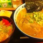 6563166 - 味噌ラーメン 中華丼