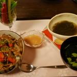 れもん - 料理写真:信州豚と野菜たっぷり彩り御膳