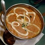 ドゥム・ダラカ - ダールフライカレー(揚げ玉ねぎとインド豆)