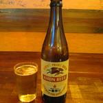 伊豆海鮮 どんぶりや - キリン一番搾り 中瓶