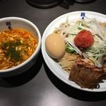 麺屋武蔵 虎嘯 - 虎嘯酢っパイシーつけ麺中税込1180円