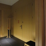 アマン東京 - 客室302 客室ドア内側