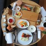 アマン東京 - インルームダイニング 朝食