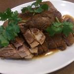 南粤美食 - ・明爐燒鴨(鹵水鴨(鴨タレ煮)1/4サイズ) 1500円