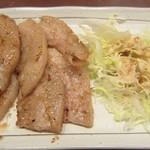 日本酒スタンド753 - 松阪豚あみ焼:豚トロ