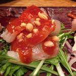 韓国鶏鍋 GOCHU - 鯛の韓式和え物