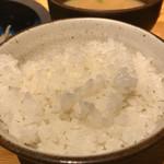 山本のハンバーグ - ご飯