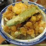 銀座 天ぷら 阿部 - 「上かき揚げ丼」