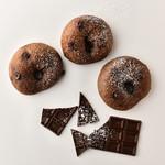 白山 UNDER THROW CAFE - フレーバーベーグル№1!濃厚チョコレートの「ショコラ」