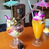 レストラン&バー カマアイナ - 料理写真:クリームあんみつ&デコポンジュース