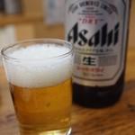 亀戸餃子 - 瓶ビール