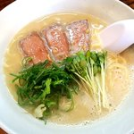 キララ - わさびローストビーフ鶏白湯らーめん:750円