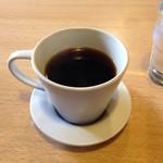 Jaco - ランチにはコーヒーが付きます。