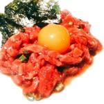 HAN JONG - 料理写真:生肉はキラキラしているよ