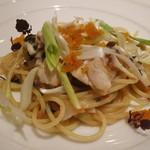 リストランテ ドゥエ フィオーリ - 桜鯛とフレッシュトマトのスパゲッティ