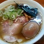 中華蕎麦 春馬 - 味玉中華普通盛り850円