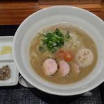 麺や いま村 - 鶏煮干しらぁめん+味玉