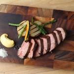豪州産 葡萄牛ハラミのステーキ