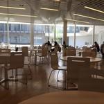 B Cafe - 自然光の入る明るい店内