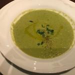 65676455 - グリーンピースのスープ