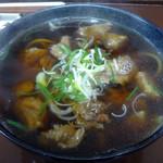 肉うどん 俵屋 - 料理写真:「肉うどん(並)」650円