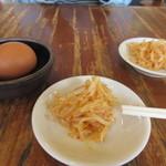 麺王 高松駅前店 - ナムルは食べていいんだって