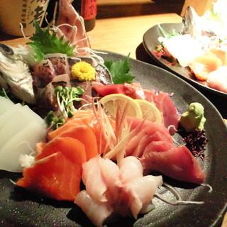 美味しい魚にこだわっています