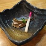 蕎麦うらやす信や - おまかせコース 自家製オイルサーディンの炙り