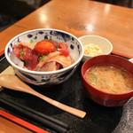 めしの助 - 2017年4月再訪:朝の少し小さめ海鮮丼 大☆
