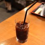 めしの助 - サービスのアイスコーヒー☆