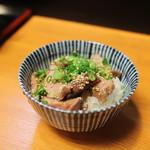 つけ麺 舞 - 焼豚丼☆