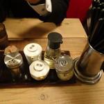 IBUKI -つけめんDINING- - テーブル