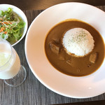 カフェ&レストラン花水木 - 飛騨牛カレー 税込1,850円