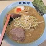 ラーメン青木亭 - 料理写真:ネギ味噌ラーメン