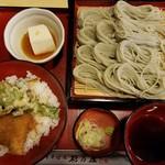 65684465 - へぎ蕎麦とミニタレかつ丼(1134円)
