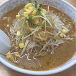 らーめんランド - 料理写真:ネギ味噌ラーメン
