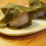 寺本饅頭本舗 - 料理写真:桜餅