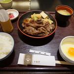 三嶋亭 - すき焼膳