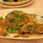 Tak Kee Chiu Chou Restaurant 德記潮州菜館 - 檸檬蒸烏頭(半條)