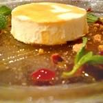 ラザーニャ・ラザーニャ - マスカルポーネチーズのホワイトプリン