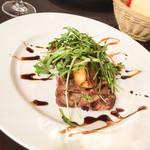 チェント アンニ ギンザ - イタリア産 豚肩肉のグリル バルサミコがけ