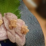 鮨処 竜敏 - とろ炙り