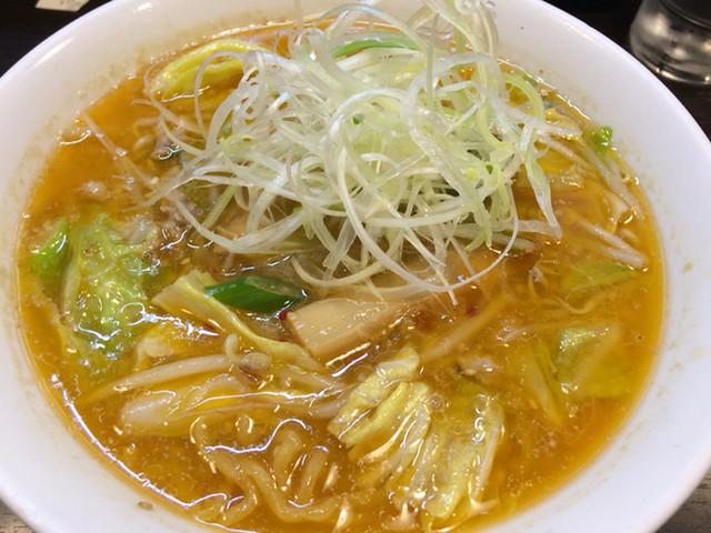 けやき すすきの本店 - 味噌ラーメン(870円)