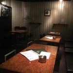 Ren - 落ち着いた雰囲気のテーブル席
