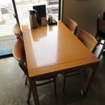 檪の丘 - テーブル席♪