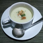 食房ヴェルデュール - 枝豆のスープ