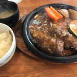 炭焼きハンバーグ 牛吉 - レギュラーハンバーグ