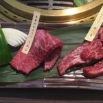 旬の野菜と焼肉 大地の匠 - お肉のアップ