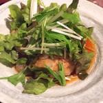 和食 まつむら - 豆腐ハンバーグ定食(750円)
